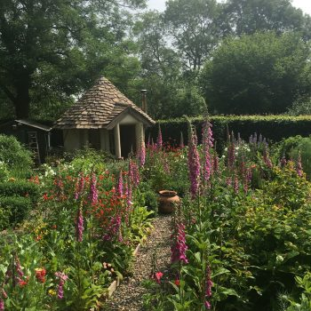 Bothy in the flower garden, Tenbury Wells